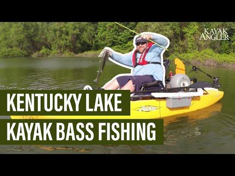 Kentucky Lake Kayak Bass Fishing