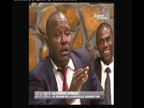 EMISSION GABONAISE AGORA: LA FRANCE AFRIQUE ET LA JEUNESSE GABONAISE