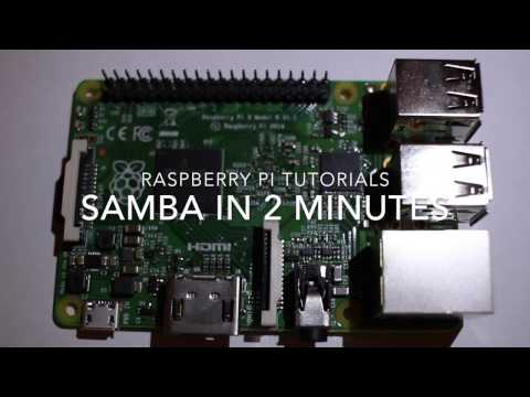 Setup a Raspberry Pi as a NAS in two minutes!
