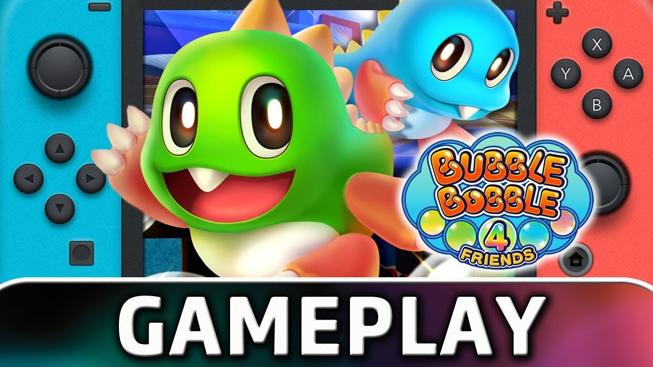 Bubble Bobble 4 Friends | First 10 Minutes on Nintendo Switch