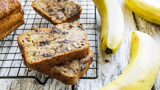 БАНАНОВЫЙ ХЛЕБ (кекс с бананом) - лучший рецепт🍴Жизнь - Вкусная!