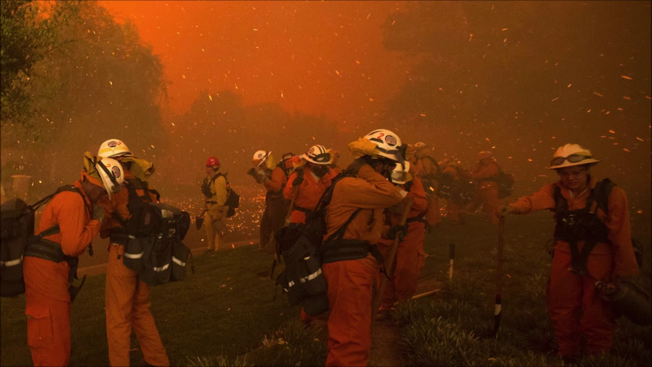 California Prisoners Are Putting Their Lives On The Line Fighting WIldfires For $2 A Day