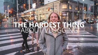 The Hardest Thing About Vlogging - We Played Arcade in Toronto