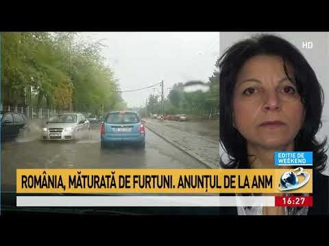 România, măturată de furtuni. Anunțul făcut de ANM