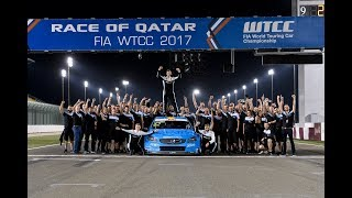 Cyan Racing and Thed Björk claim their first World Titles in 2017 WTCC season finale