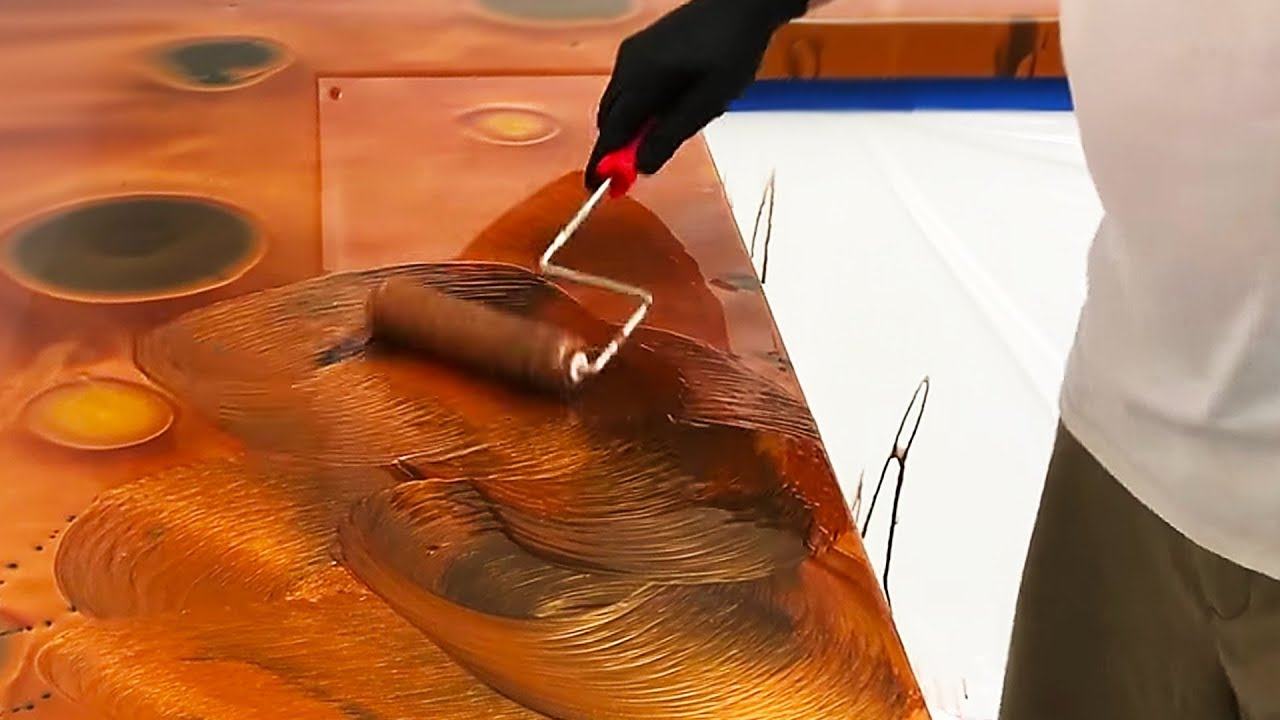 These Epoxy Countertops Are Just Fantastic Youtube
