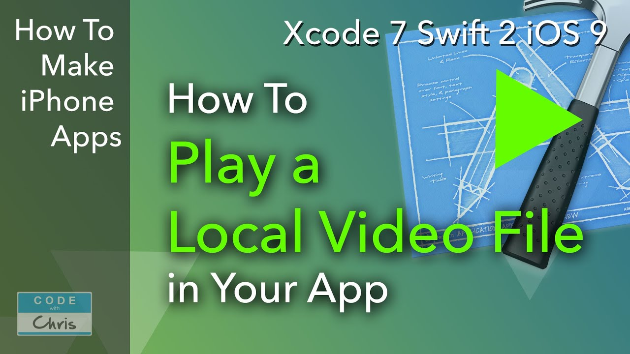 How To Play a Local Video File in Your App using AVPlayerViewController