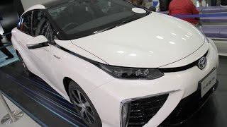 夢の水素自動車、トヨタ・ミライとコンセプトカーFVCを比較してみました。