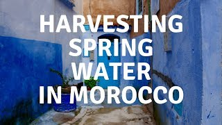 HARVESTING SPRING WATER | CHEFCHAOUEN | MOROCCO