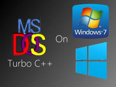 how to run turbo c in full screen without dos box