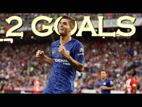 Chrisian Pulisic vs Salzburg – HE SCORED 2 GOALS TO PROVE HE CAN REPLACE HAZARD – Chelsea – 720p HD