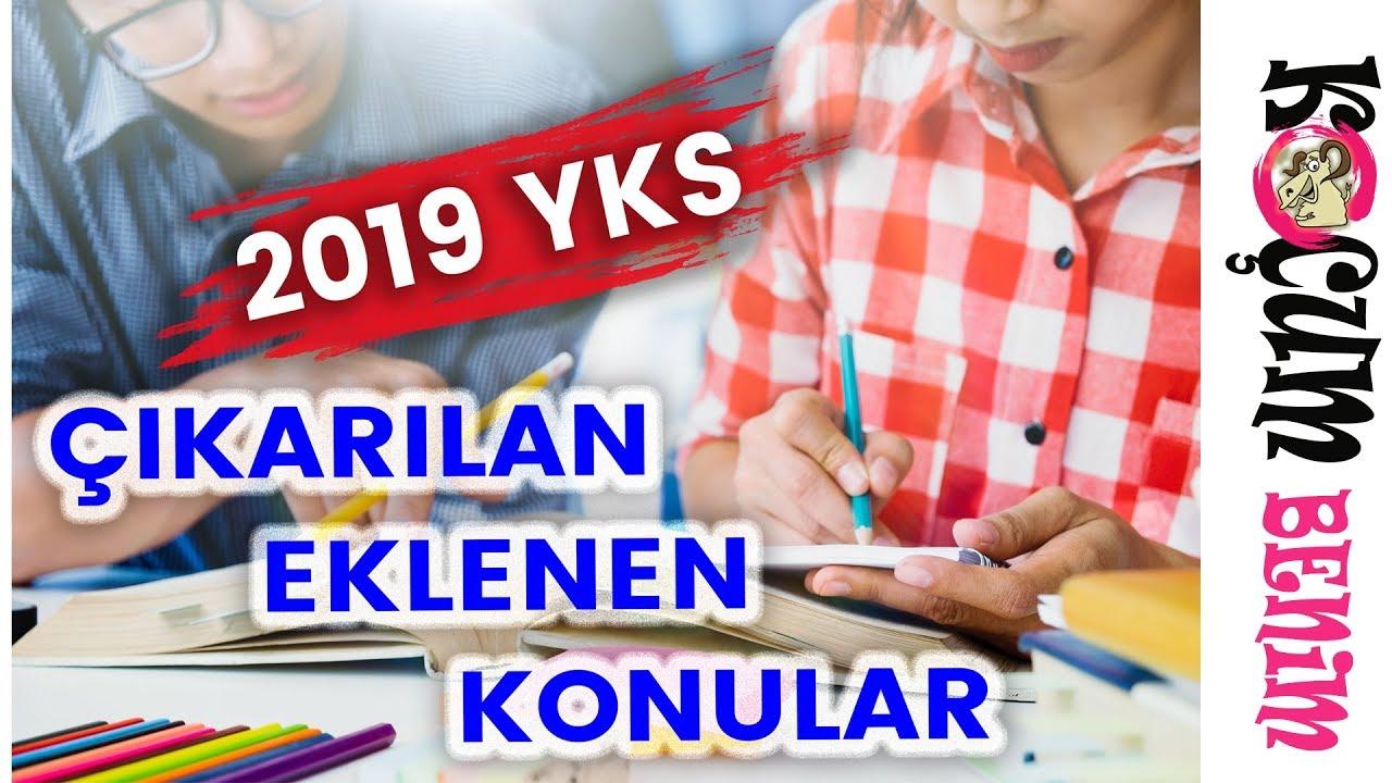 Sınavda neler kullanabileceğinizi ve 2019'da sınava ne gireceğinizi 9
