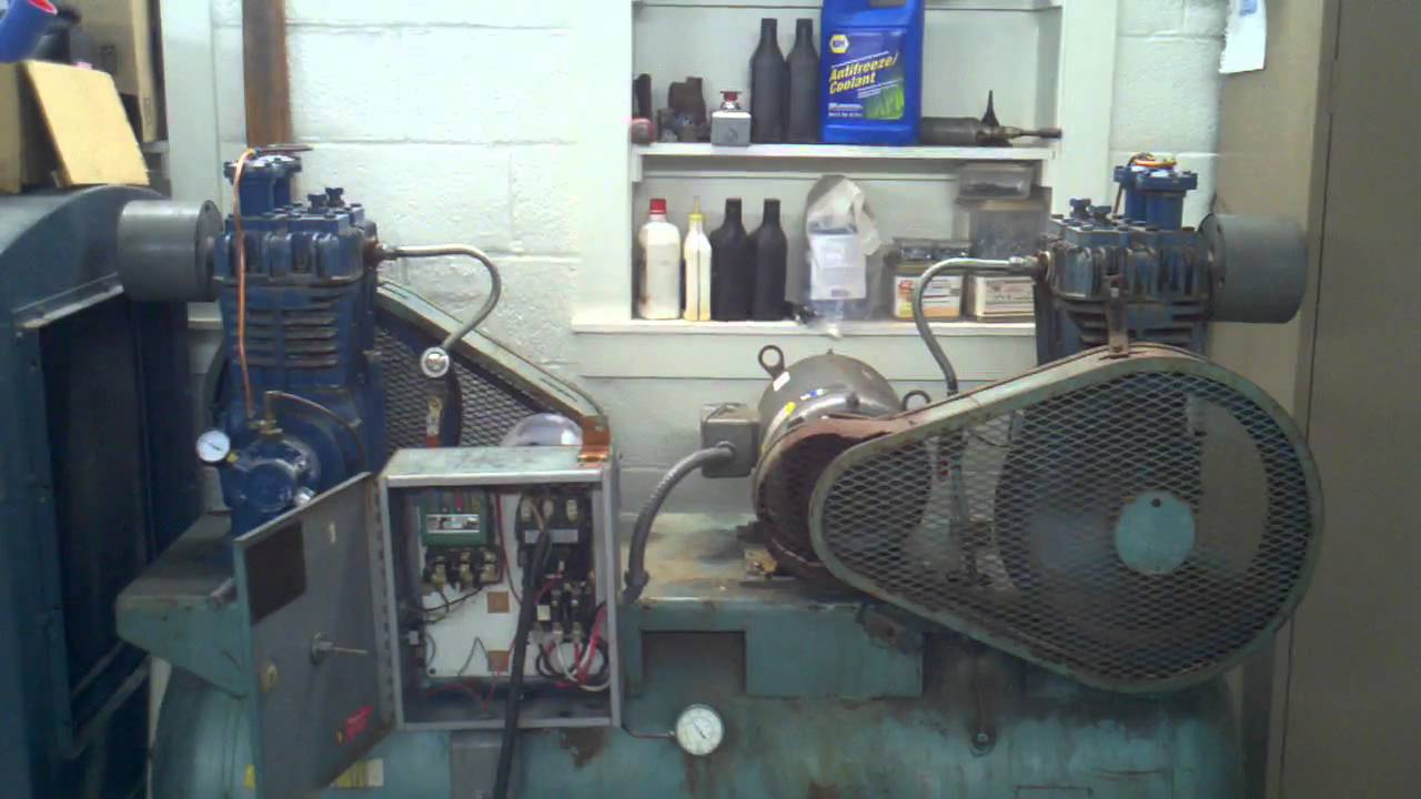 Quincy Duplex 240 Compressor