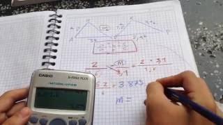Ejercicios de triángulos semejantes