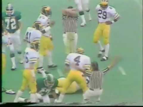 1979: Michigan 21 MSU 7