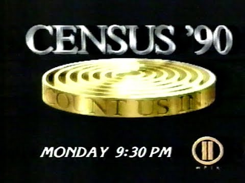 WPIX - Census '90 Promo (1990)