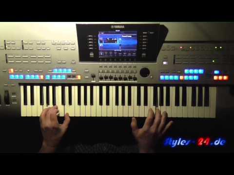 Atemlos - Helene Fischer, Instrumental-Cover gespielt auf Tyros 4
