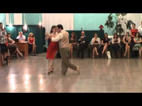 Mario De Camillis y Bárbara Wainwright. Russia. Tango.