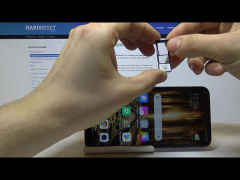 Xiaomi Redmi 8 — Как вставить СИМ карту и карту памяти?