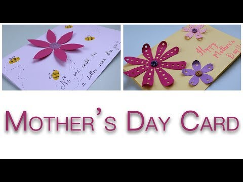 Mothers Day Cards Handmade Easy | Gift Ideas For Mom [CUTE] [SIMPLE]
