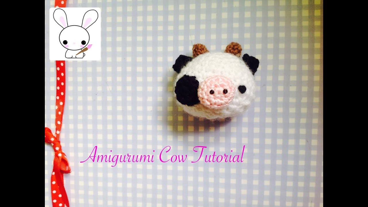 Amigurumi Patterns Cow : How to crochet a cute little cow amigurumi tutorial youtube