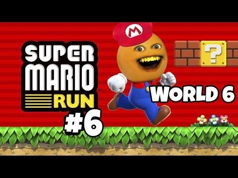 Annoying Orange Plays - Super Mario Run #6: World 6