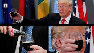 Trump's Diet Coke Button Goes Away