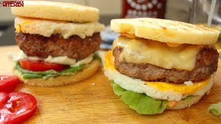 Keto Egg and Sausage McMuffin | Keto Recipes | Headbanger's Kitchen