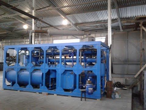 Запуск установки по переработке шин пиролизом