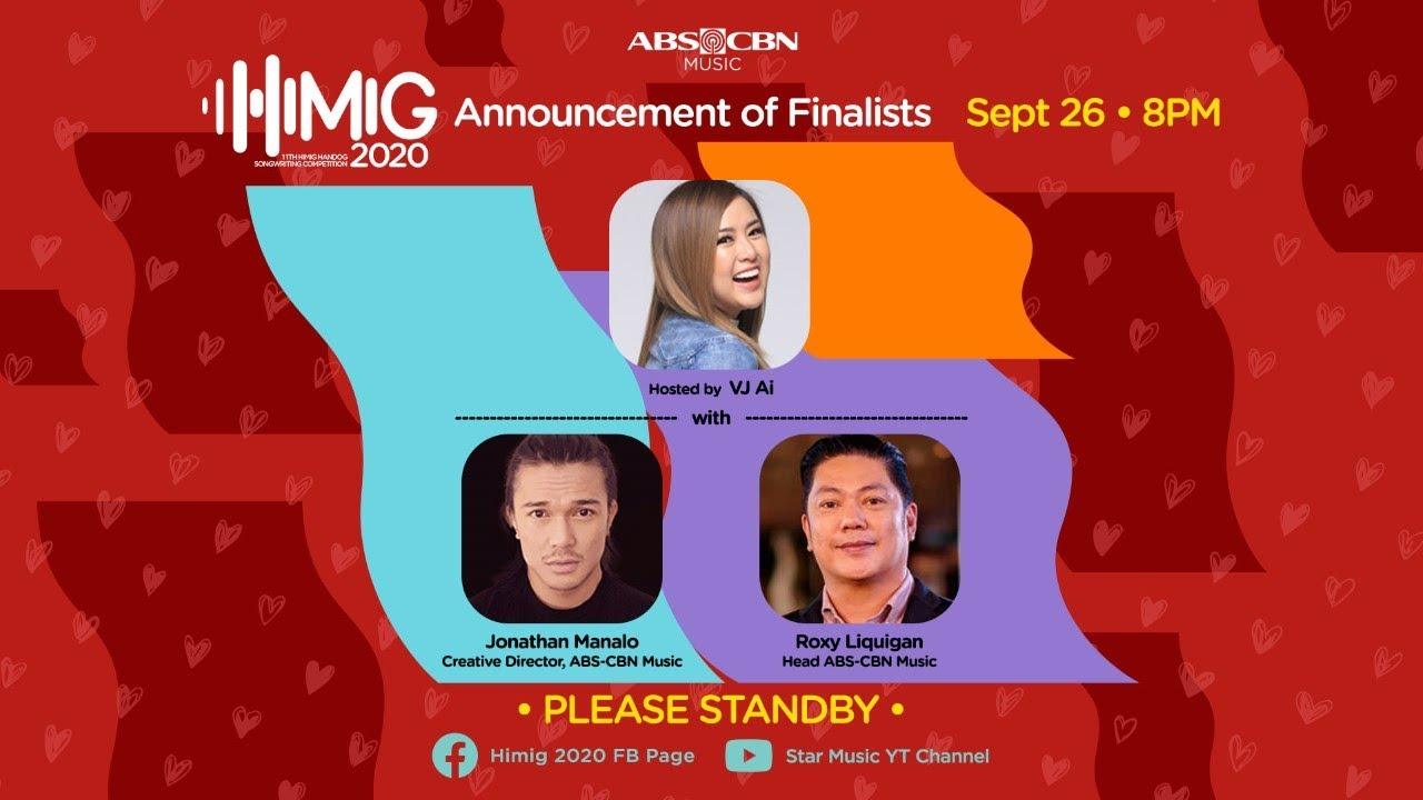 Himig Handog 2020 Announcement of Finalists