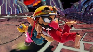 Random Battles in Super Smash Bros Ultimate but with...