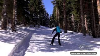 Ardèche - Conquète du Mézenc en ski de fond