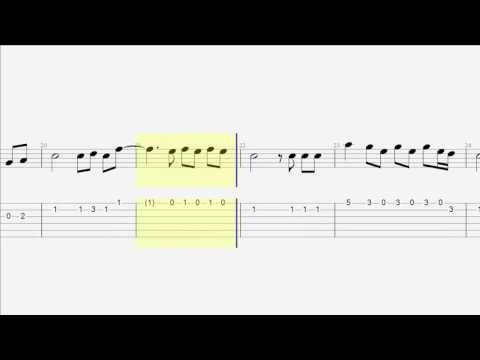 Guitar Tab & Notes - Can't Stop the Feeling - Justin Timberlake - Easy Guitar Cover