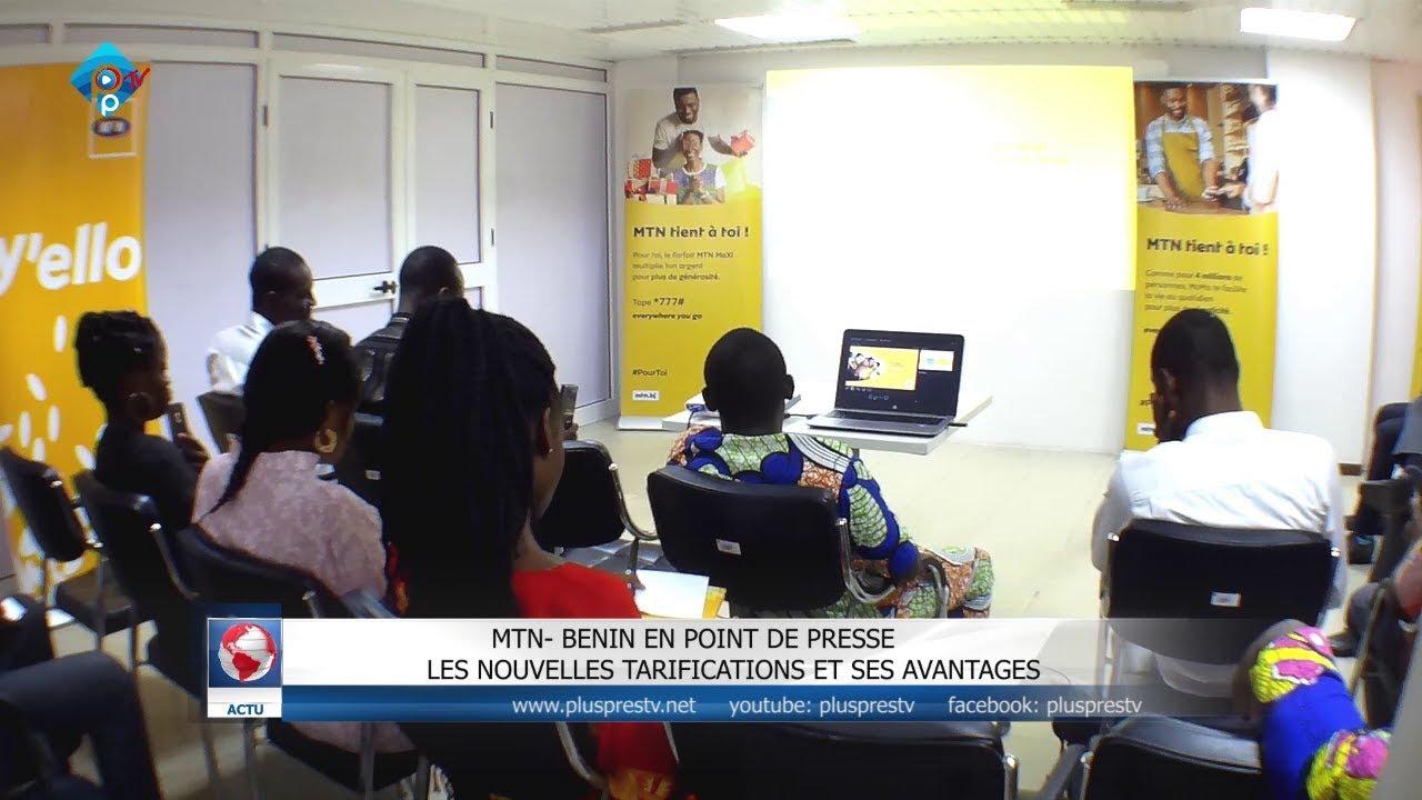 MTN- BÉNIN EN POINT DE PRESSE LES NOUVELLES TARIFICATIONS ET SES AVANTAGES