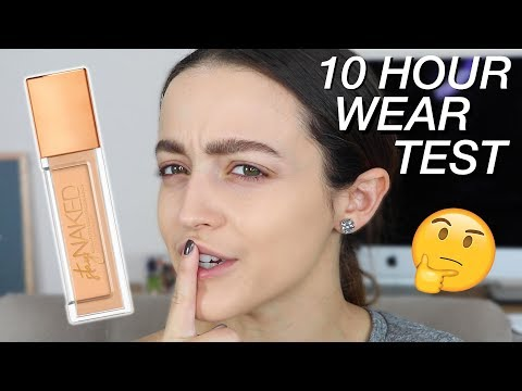 URBAN DECAY STAY NAKED FOUNDATION! - All Day Wear Test/ First Impressions