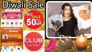 Club Factory Club Diwali Sale Haul |Fashion,Bags, jewelry, Home| Super Style Tips