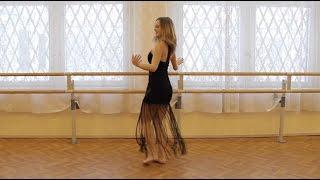 Russian girl dances Iranian dances