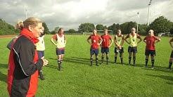 Links, zwo drei, TOR! Die Frauenfußballnationalmannschaft der Bundeswehr