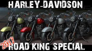Harley Davidson Road King Special 2017 Colours