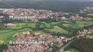 Landing at Nuremberg Airport / Albrecht Dürer Flughafen Nürnberg, Bavaria, Germany: 31st May, 2016