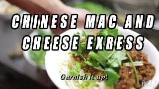 "Chinese Sichuan ""mac And Cheese"" Pea Noodles 豌豆杂酱面"