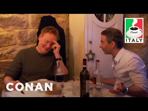 Conan Visits Jordan鈥檚 Favorite Restaurant  - CONAN on TBS
