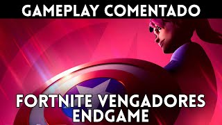 GAMEPLAY español FORTNITE VENGADORES ENDGAME - Thanos y las Gemas del Infinito regresan a Fortnite