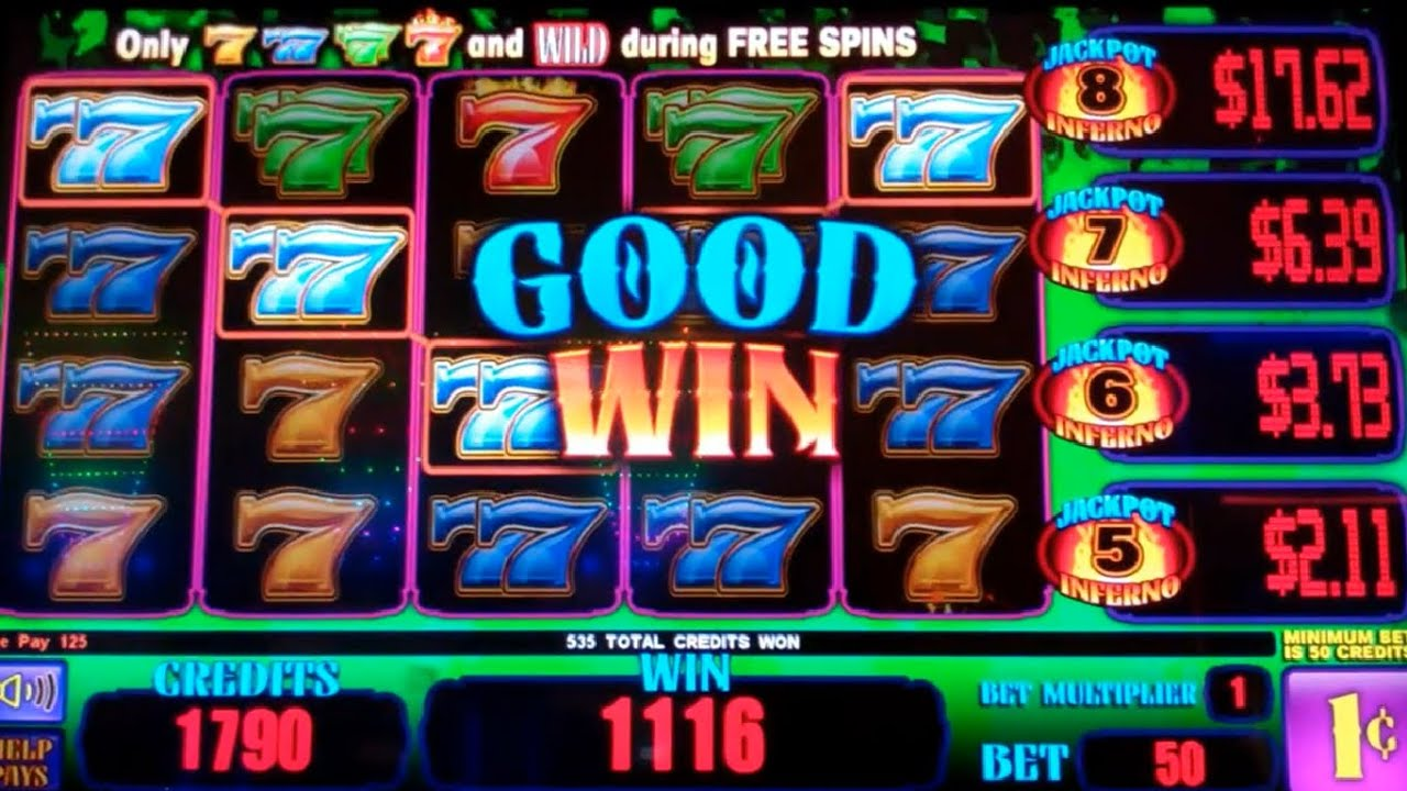 Jackpot Inferno Slot Machine