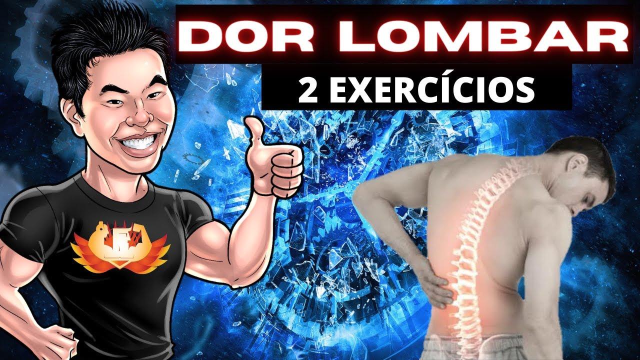 DOR LOMBAR - 2 EXERCÍCIOS QUE PODEM AJUDAR