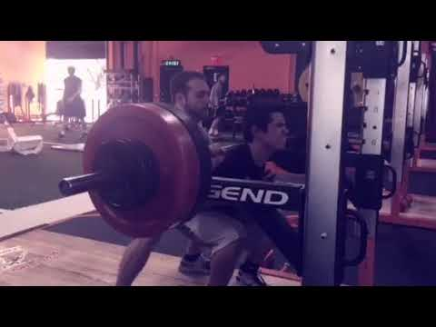 SC Athlete-Michael Frederick, max squat