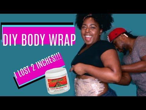 DIY Body Wrap | Shrink Belly Fat