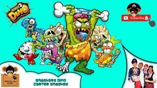 DINO SMASHERS With Monkey Toy Chest - Carter Smashes Dino Eggs