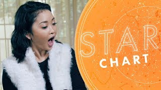 Lana Condor Gets Her Horoscope Read ⭐(Plus: Noah Centineo's Sign!) | Star Chart with Aliza Kelly