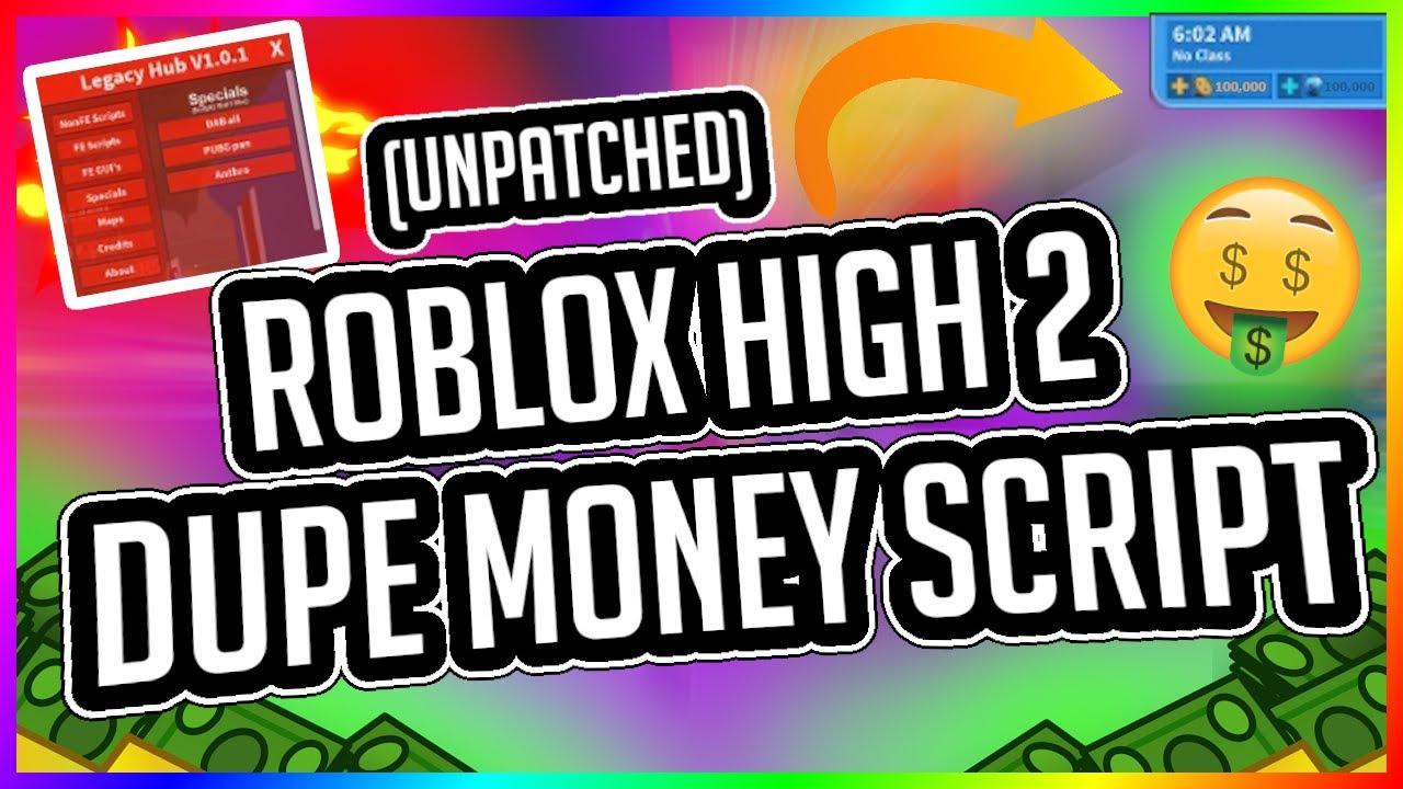 Roblox Highschool 2 Money Hack Gui Money Dupe Gui Scrpit 2020